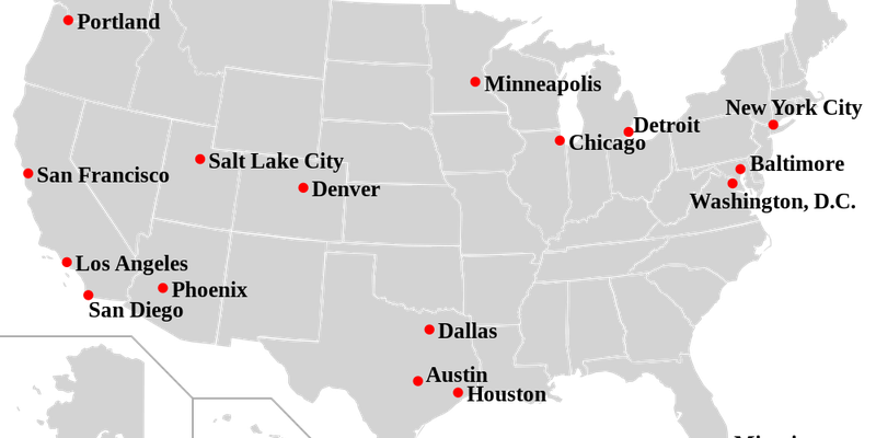 No Sanctuary For Us Sanctuary Cities - Map-of-us-sanctuary-cities