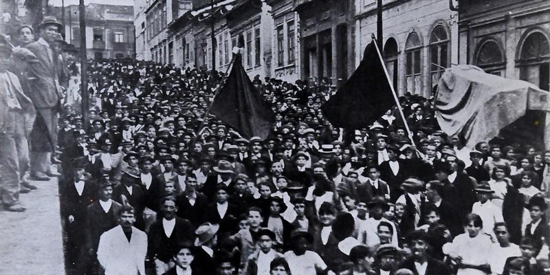 General Strike in Sao Paulo