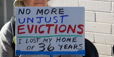 eviction sign