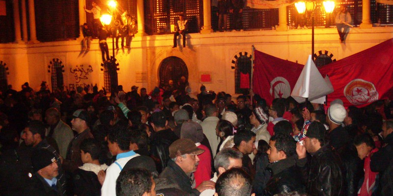 Tunis Protests