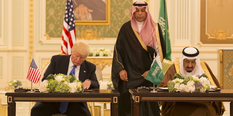Trump and King Salman