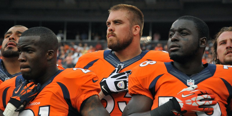 Colorado Air National Guard member plays for the Denver Broncos