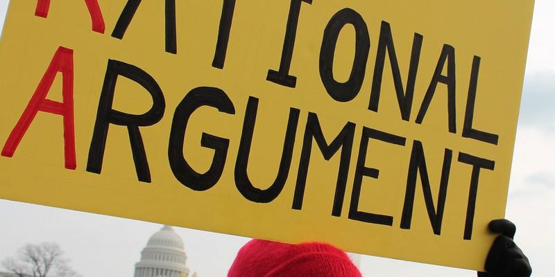 A gun control protest