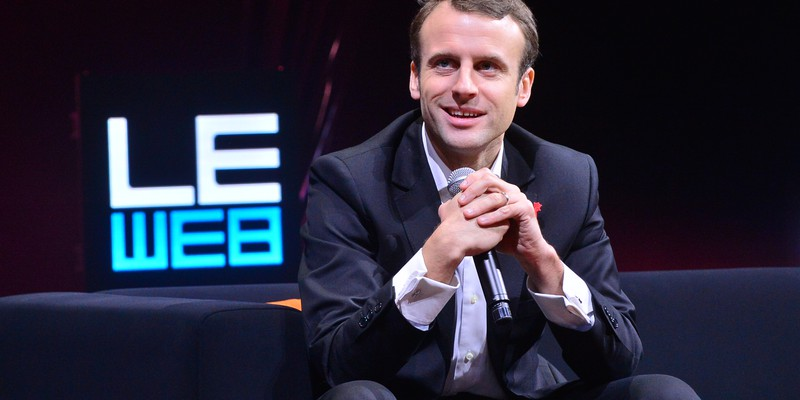 LEWEB 2014 - CONFERENCE - LEWEB TRENDS - IN CONVERSATION WITH EMMANUEL MACRON (FRENCH MINISTER FOR E