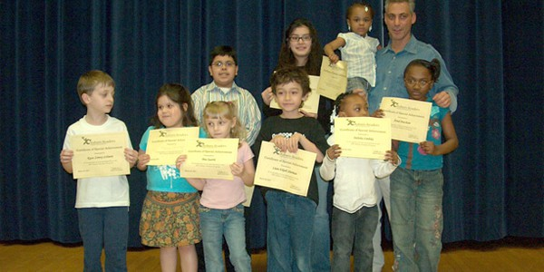 Rahm_Emanuel_with_students