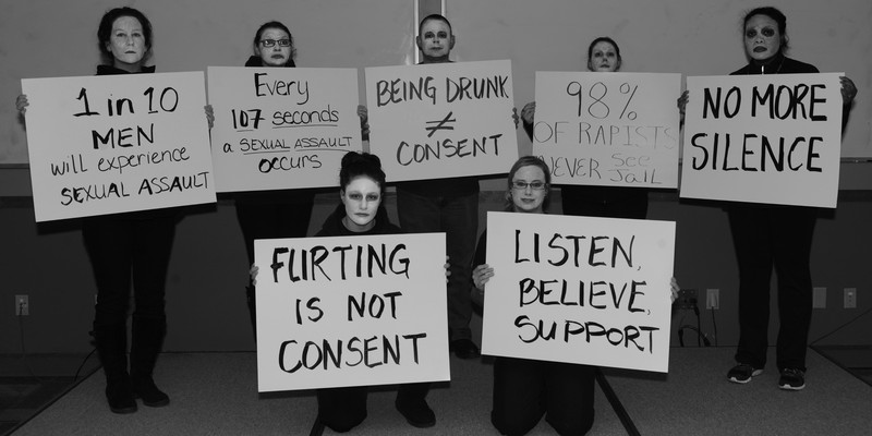 Sexual Assault Awareness and Prevention Month kicks off with living display