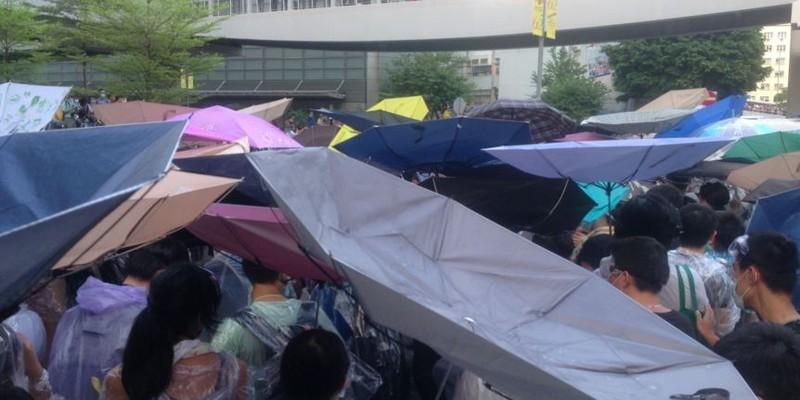 Umbrella Protest